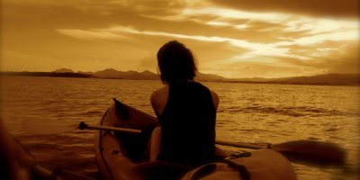 Couche de soleil Kayak Cannes